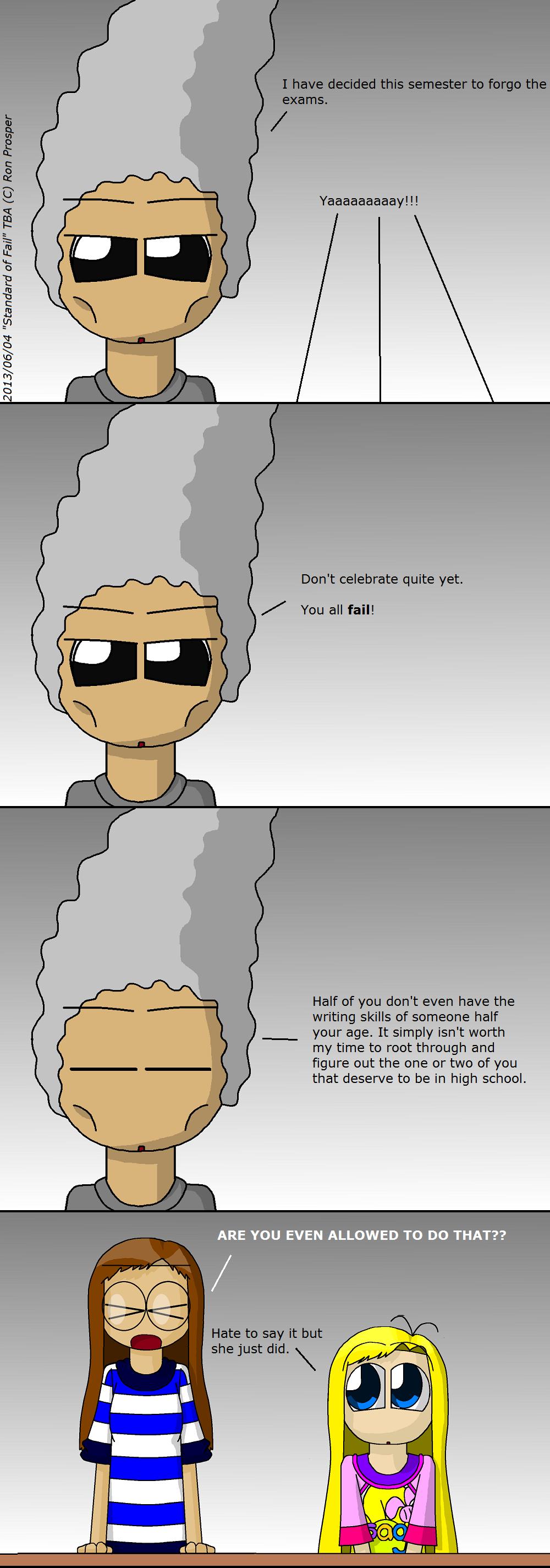 Standard of Fail (6/4/13)