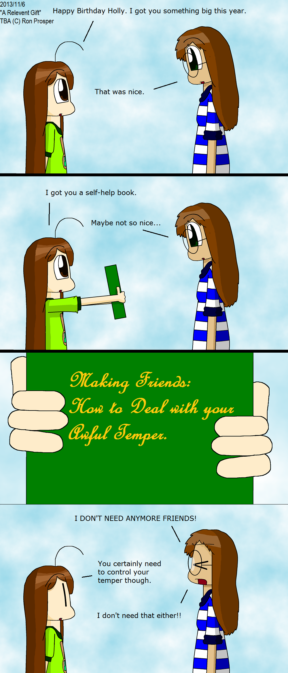 A Relevent Gift (11/6/13)
